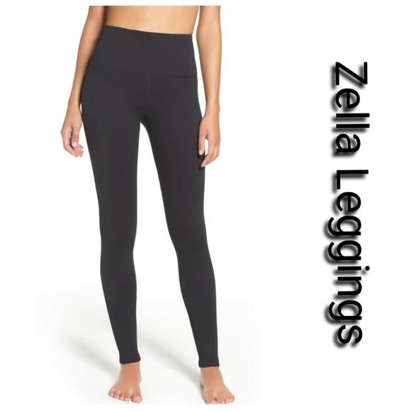 f001dcb0f87f6c Zella Pants   Nwt Black High Waisted Live In Leggings   Poshmark